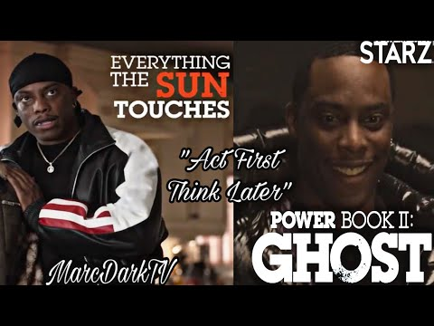 """POWER BOOK II: GHOST """"ACT FIRST THINK LATER"""" CANE PROMO RECAP!!"""