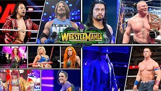 Hello guys!These are my predicted matches for WWE WrestleMania 34!If you enjoyed this video and want more like this then please leave a like on this video and subscribe to my channel! It will be much appreciated. Thank you for watching the video and have a great day!----------------------------------------------Credit to WWE for pictures used:http://www.wwe.com/Background from: http://wallpapersafari.com/royalty-free-wallpapers/Music from NoCopyrightSounds:Konac - Home [NCS Release]Link: https://www.youtube.com/watch?v=6TFfIgMeYQ0Konac• https://soundcloud.com/konac• https://www.facebook.com/itskonac• https://www.youtube.com/c/konac• https://twitter.com/konac_