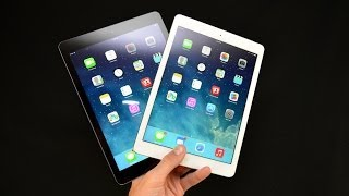 Apple IPad Air (White Vs Black): Unboxing&Overview