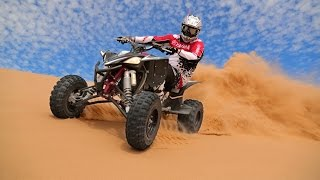 9. ATVing in the Glamis Dunes with 2015 Yamaha Raptor 700 and YFZ450