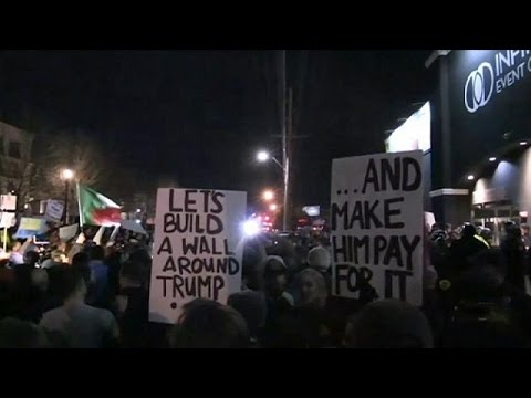 ΗΠΑ: Συγκρούσεις διαδηλωτών-αστυνομίας σε ομιλία του Τραμπ στην Γιούτα