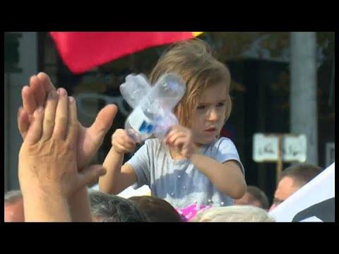 Moldawier: Demonstration gegen eine Gerichtsentscheidung / «Wir sind mit der Geduld am Ende»