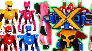 Video Miniforce X commando X machine 4 combine transform robots and New action figure!- DuDuPopTOY MP3, 3GP, MP4, WEBM, AVI, FLV Juli 2018