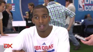 B.J. Young Draft Combine Interview