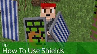 How To Use Shields in Minecraft 1.9 [OLD]