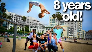 Video Extreme Acro Gymnasts vs 8 YEAR OLD *dares* MP3, 3GP, MP4, WEBM, AVI, FLV Agustus 2019
