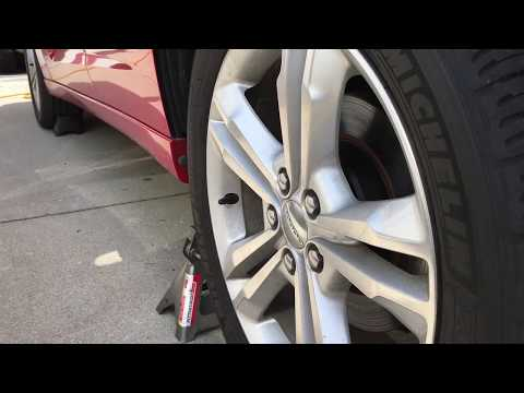 2011 Dodge Charger Rear Stabilizer Bar Link Replacement