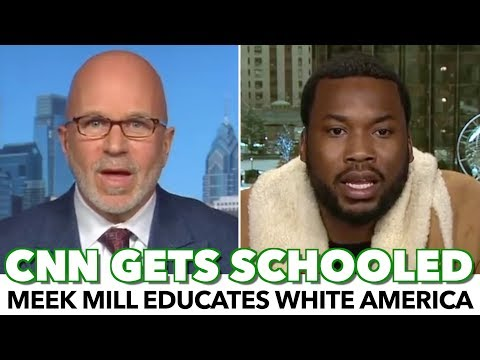 Meek Mill Schools CNN Host With Black American Reality