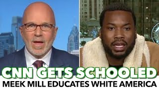 Video Meek Mill Schools CNN Host With Black American Reality MP3, 3GP, MP4, WEBM, AVI, FLV Desember 2018