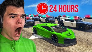 Video Playing GTA 5 For 24 Hours Without BREAKING LAWS! MP3, 3GP, MP4, WEBM, AVI, FLV Agustus 2019