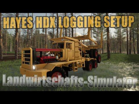 Hayes HDX Logging Setup v1.0.0.0