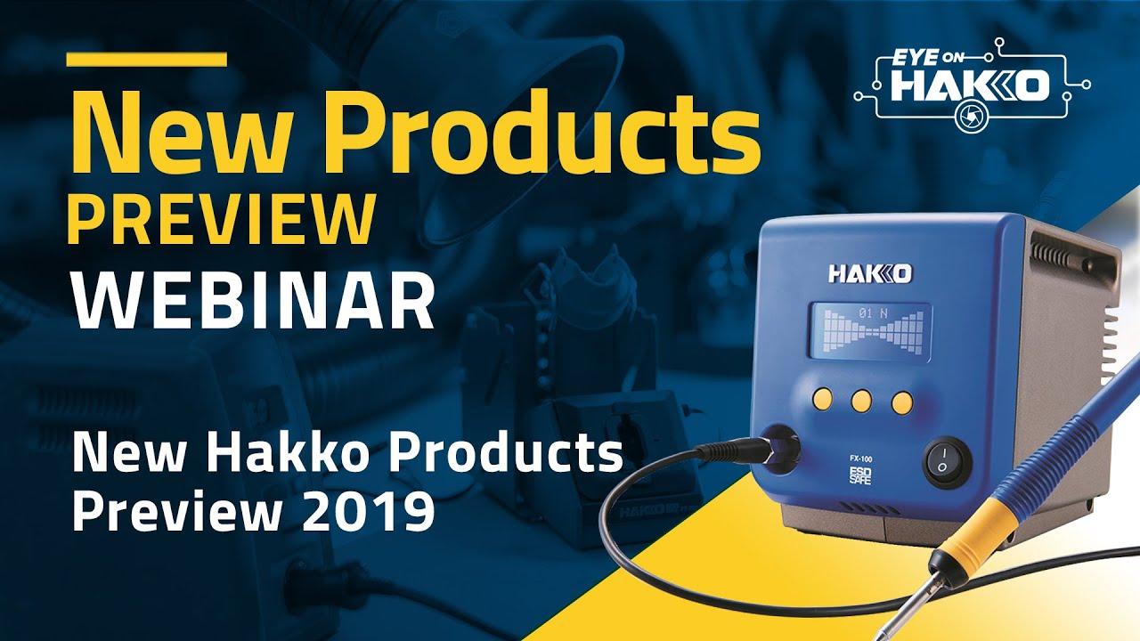 """Eye On Hakko"" presents, ""New HAKKO Products Preview — 2019"""