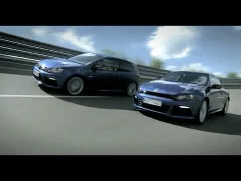 VW Golf R20 and Scirocco R - First Commercial