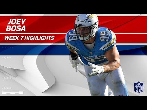 Video: Joey Bosa's Beastly Game w/ 2 Sacks!