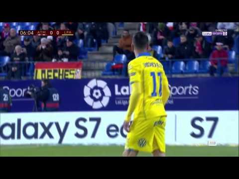 Atlético de Madrid 2 UD Las Palmas 3 | Completo FULL MATCH 10/01/2017