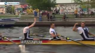 Der Achter der FRG Germania Frankfurt gewinnt die erste Champions League in Berlin.
