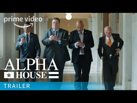 Alpha House -Prime Video: Pilot Trailer | Prime Video