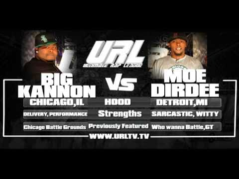 URL PRESENTS Big Kannon vs MoeDirdee
