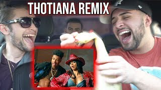 Blueface - Thotiana Remix Ft. Cardi B (Official Reaction Video)