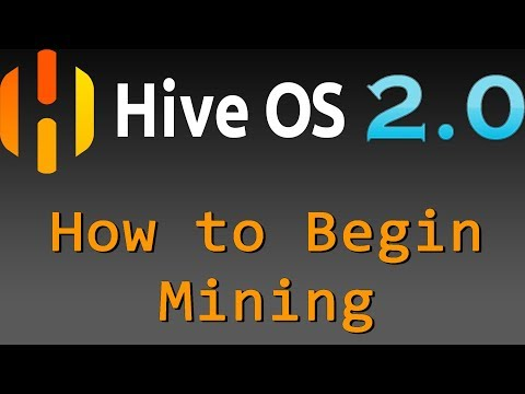 HIVE 2.0 - How add a Wallet and Flight sheet then Begin Mining