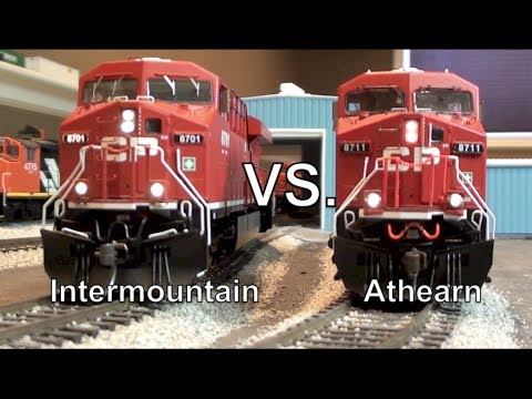 Gevo Tug-O-War - Intermountain vs. Athearn Genesis