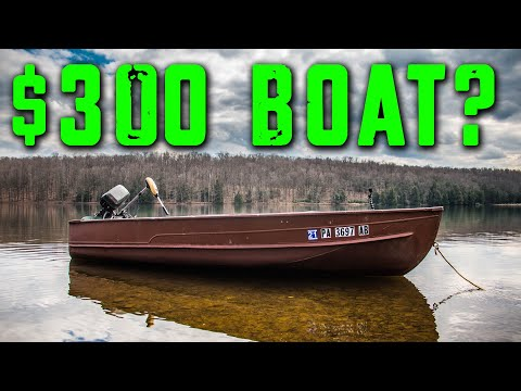 Buying a fishing boat on a Budget!!