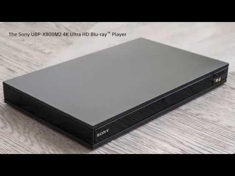 Sony's 4K Ultra HD Blu-ray Player | UBP-X800M2