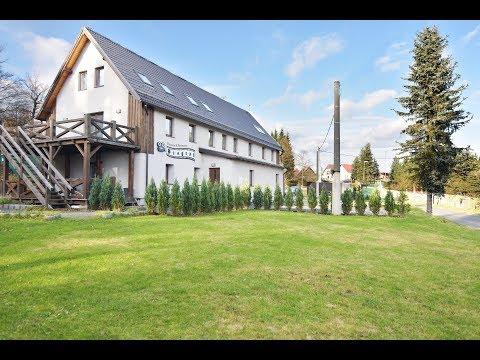 Prohlídka penzionu, 582 m² (1015 m²), Klíny