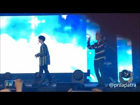 EXO - TENDER LOVE + LUCKY FANS! - MUSIC BANK JAKARTA - 2 SEP 2017
