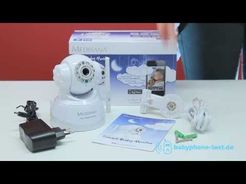 Medisana Smart Baby Monitor Video