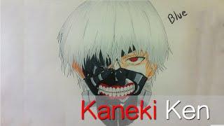 how to draw kaneki ken