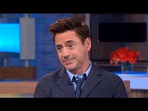 Robert Downey Jr - Actor dishes on