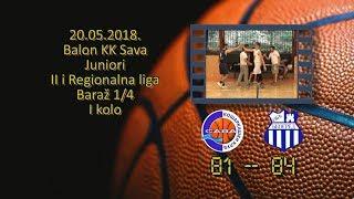 kk sava okk beograd 81 84 (juniori, 20 05 2018 ) košarkaški klub sava