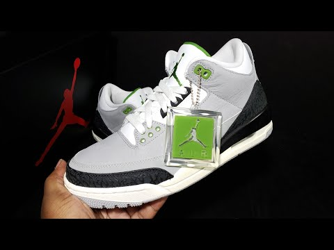 "New Air Jordan Retro 3 ""chlorophyll""  First Look + In Hand Review"