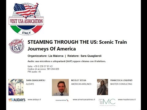 Video STEAMING THROUGH THE US: Scenic Train Journeys Of America (30-10-2018)