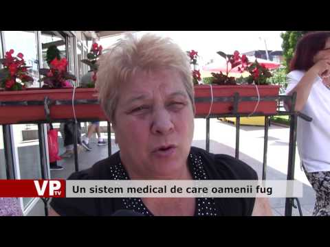 Un sistem medical de care oamenii fug
