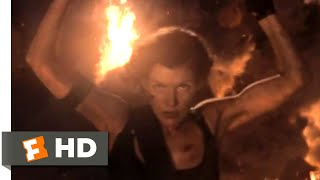 Nonton Resident Evil: The Final Chapter (2017) - Tower Inferno Scene (5/10) | Movieclips Film Subtitle Indonesia Streaming Movie Download