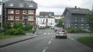 Olpe Germany  city images : Driving in Olpe, Germany (West-East)