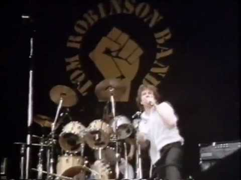 Tom Robinson Band: Up Against The Wall (Live)
