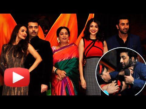 Ranbir Kapoor, Anushka Sharma, Karan Johar on Indi