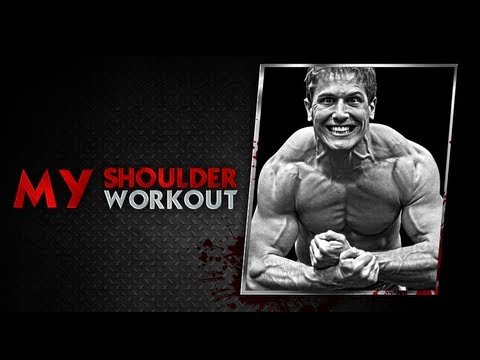 shoulder - (0:27)- Routine Sets & Reps (0:42)- Dumbbell Military Press (3:37)- Dumbbell Lateral Raise (6:56)-Dumbbell Front Raise (10:14)- Rear Deltoid (LF) (13:16)- Ba...