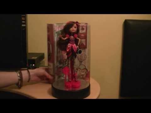 CuteanimefiguresTV Ever After High Royal  Briar Beauty Daughter of Sleeping Beauty Review