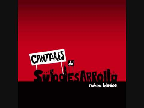 porttil - (Autor: Ruben Blades) (Canta: Ruben Blades) Se vende un pas porttil Con su autoestima en el suelo Con un enorme complejo Que lo hace antinacional Es un lug...