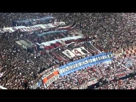 ESTA ES LA BANDA LOCA DEL MILLONARIO - River Plate vs Libertad - Copa Sudamericana 2014 - Los Borrachos del Tablón - River Plate