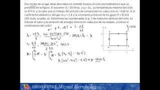 Umh1148 2013-14 Lec004b Problema De Ciclos Termodinámicos