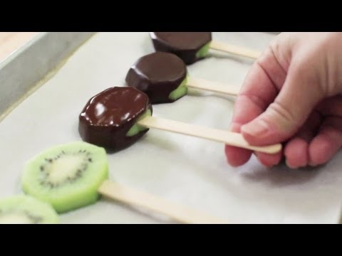 How to Recover from a Chocolate-Covered Kiwi Pop Pinterest Fail… From the Food Network Kitchens!