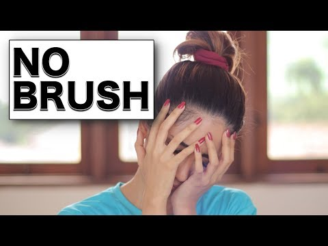 NO BRUSH Make Up Challenge | Suhaysalim