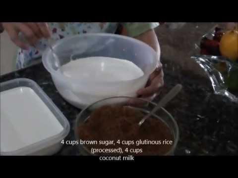 kalamay recipe