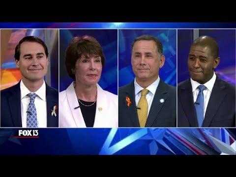 Florida Democratic gubernatorial candidates debate