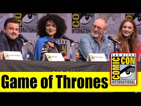 Game Of Thrones Comic Con 2017 Panel